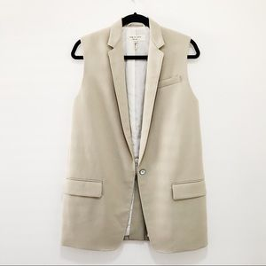 Rag and Bone Long Tailored Vest